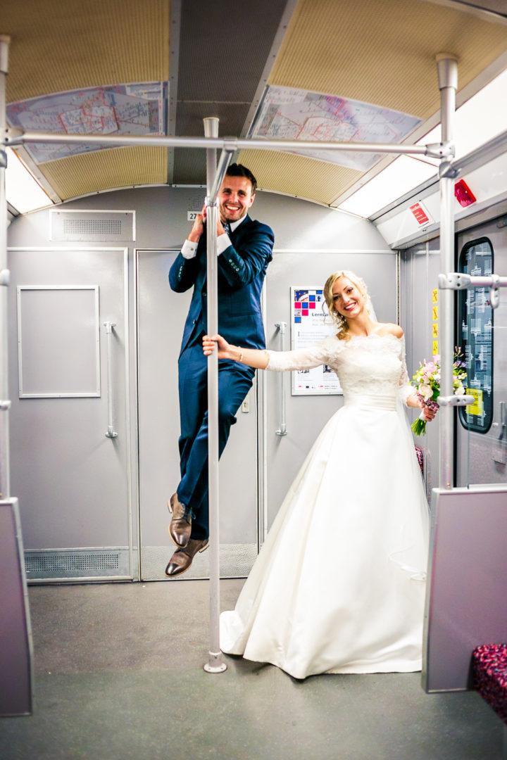 Hochzeit U-Bahn Berlin