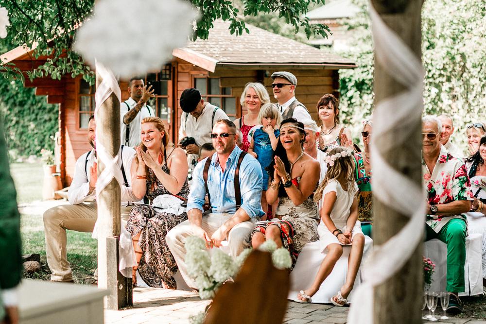 Boho Hochzeit in Berlin